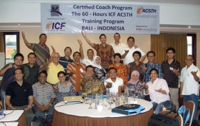 with Indonesia ICF Community