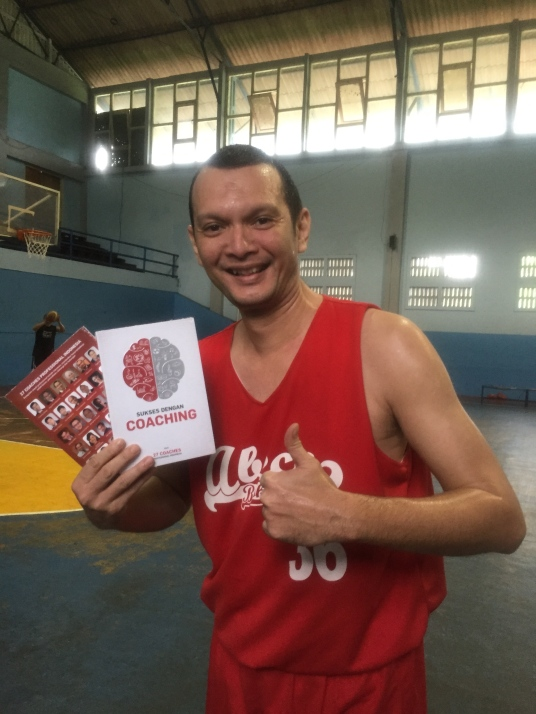 Launching book @ Basketball Court