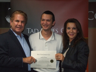 with Tad&Adriana James, NLP Master